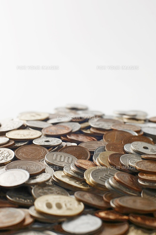 日本の硬貨の写真素材 [FYI00381264]