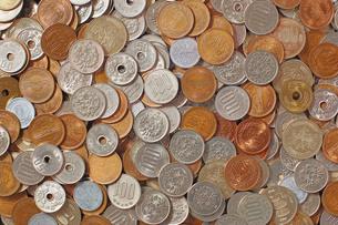 日本の硬貨アップの写真素材 [FYI00381274]
