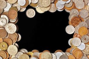 お金のフレームの写真素材 [FYI00381277]