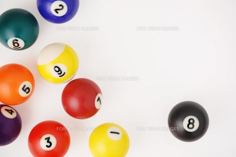 ビリヤードの球の写真素材 [FYI00381297]