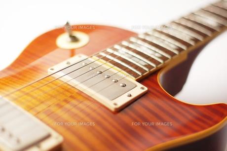 ギターのアップの写真素材 [FYI00381301]