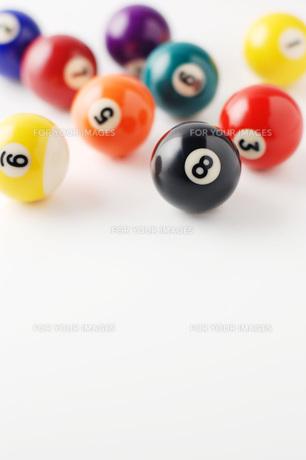ビリヤードの球の写真素材 [FYI00381304]