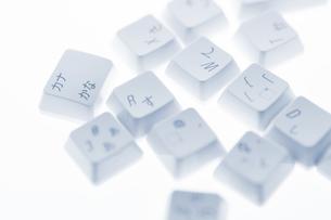 バラバラのキーボードの写真素材 [FYI00381333]