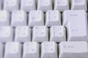 キーボードのアップの写真素材 [FYI00381336]