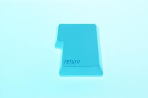 returnキーの写真素材 [FYI00381343]