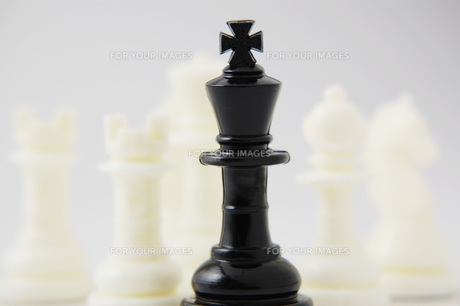 チェスの駒の写真素材 [FYI00381363]