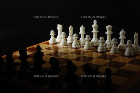 チェスの写真素材 [FYI00381365]