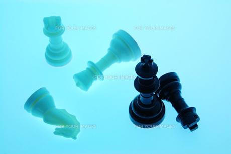 チェスの駒の写真素材 [FYI00381368]
