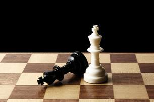 チェスの駒の写真素材 [FYI00381377]