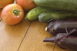 複数の野菜の写真素材 [FYI00381526]