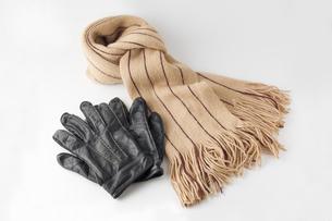 手袋とマフラーの写真素材 [FYI00381559]