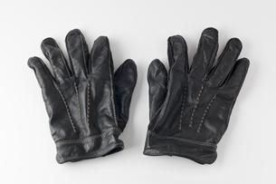黒い手袋の写真素材 [FYI00381567]