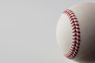 野球ボールのアップの写真素材 [FYI00381580]