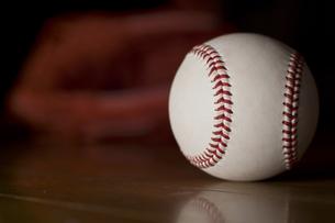 野球ボールの写真素材 [FYI00381586]