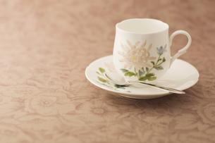 ティーカップとソーサーの写真素材 [FYI00381637]