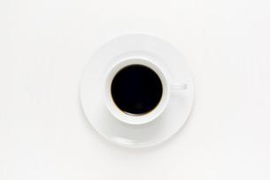 コーヒーカップとソーサーの写真素材 [FYI00381664]