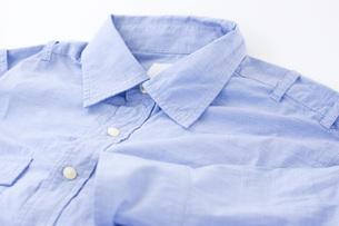 ワイシャツのアップの写真素材 [FYI00381681]