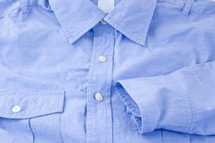 ワイシャツのアップの写真素材 [FYI00381694]