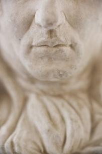石膏像のアップの写真素材 [FYI00381704]