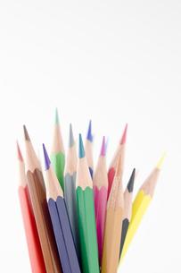 色鉛筆の集合の写真素材 [FYI00381800]