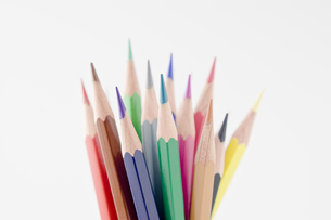 色鉛筆の集合の写真素材 [FYI00381814]