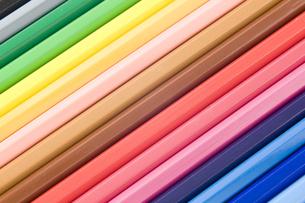 色鉛筆のアップの写真素材 [FYI00381827]