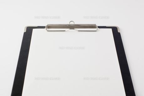 クリップボードのアップの写真素材 [FYI00381852]