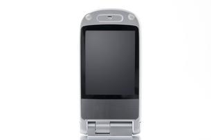 携帯電話の液晶画面のアップの写真素材 [FYI00381871]