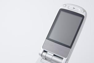 携帯電話の液晶画面のアップ の写真素材 [FYI00381887]