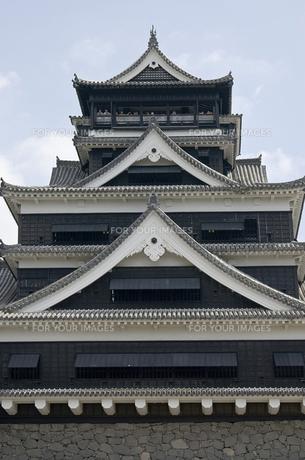 熊本城の写真素材 [FYI00381920]