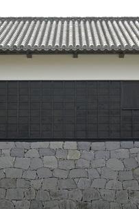 古い日本の木造建築の写真素材 [FYI00381924]