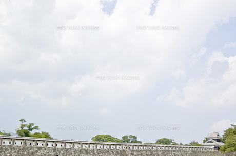 熊本城の写真素材 [FYI00381925]