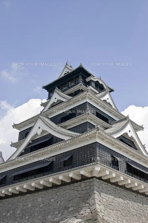 熊本城の写真素材 [FYI00381933]