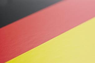 ドイツの国旗のアップの写真素材 [FYI00382084]