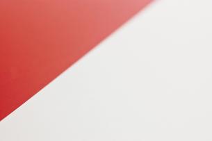 インドネシアの国旗のアップの写真素材 [FYI00382087]