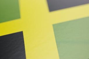 ジャマイカの国旗のアップの写真素材 [FYI00382091]