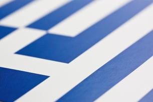 ギリシャの国旗のアップの写真素材 [FYI00382100]