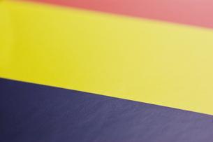 ルーマニアの国旗のアップの写真素材 [FYI00382103]