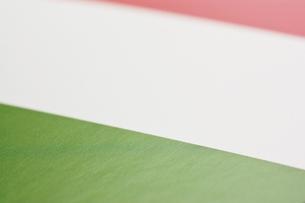 イタリアの国旗のアップの写真素材 [FYI00382105]