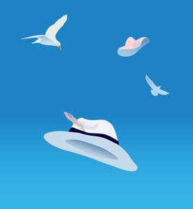 summer hatの写真素材 [FYI00382202]