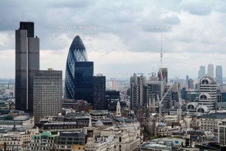 シティオブロンドンの高層ビル群の素材 [FYI00382312]