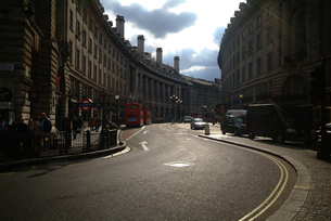 リージェントストリート、ロンドンの素材 [FYI00382327]