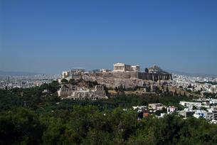 アクロポリス遠景の写真素材 [FYI00382374]