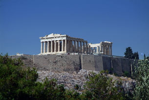 パルテノン神殿:全景の写真素材 [FYI00382377]
