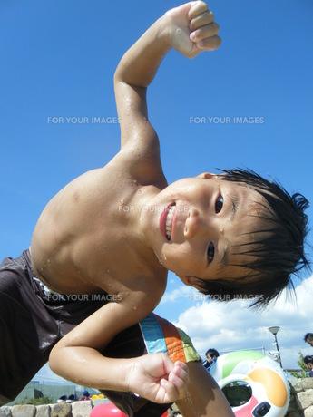 夏真っ盛り!の写真素材 [FYI00382434]