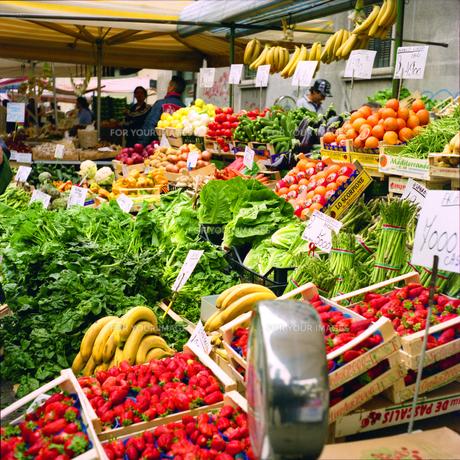 ミラノの市場の写真素材 [FYI00382445]