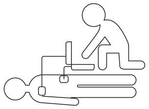 AED自動体外式除細動器の写真素材 [FYI00382549]