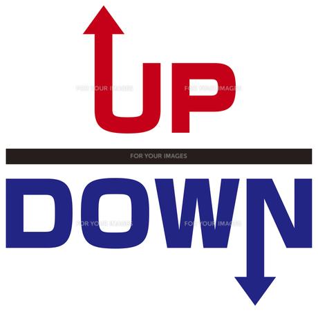 UP&DOWNの写真素材 [FYI00382568]