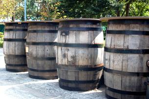 ワイン樽の写真素材 [FYI00382608]