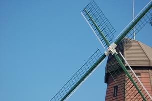 霞ヶ浦総合公園の風車の写真素材 [FYI00382651]